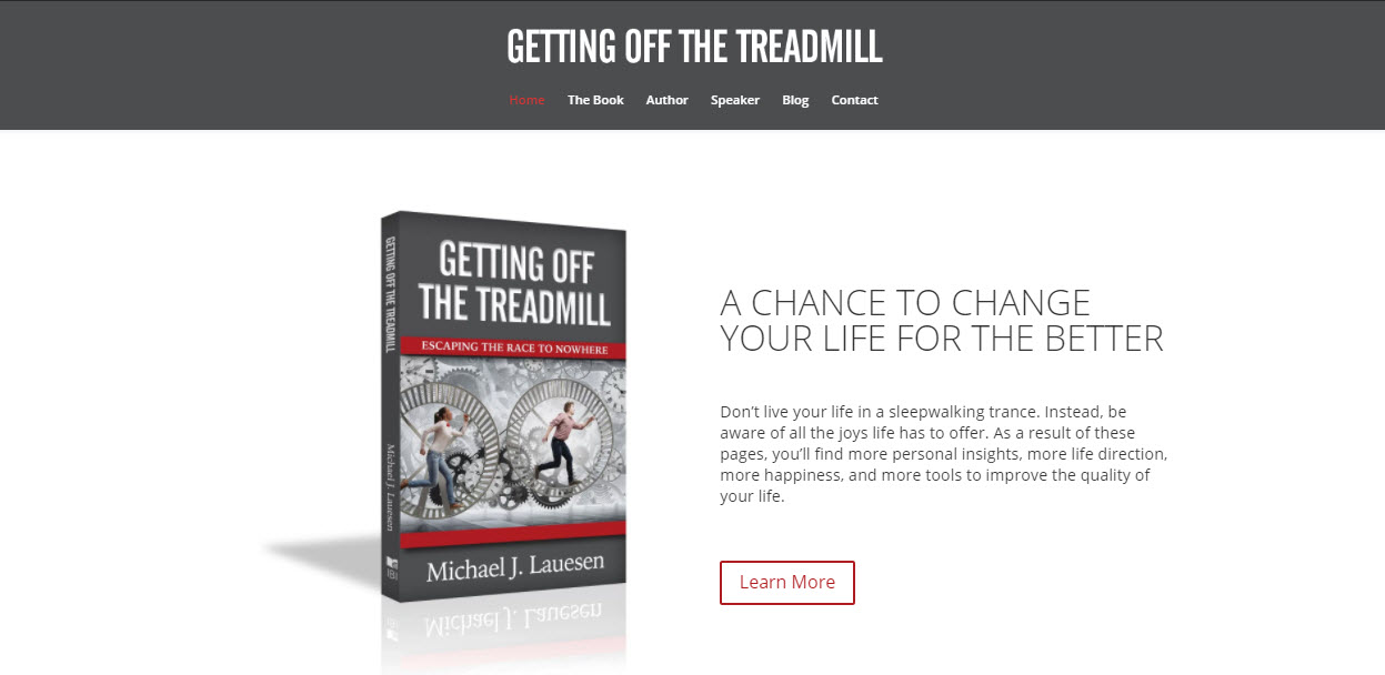 Getting off the Treadmill book website
