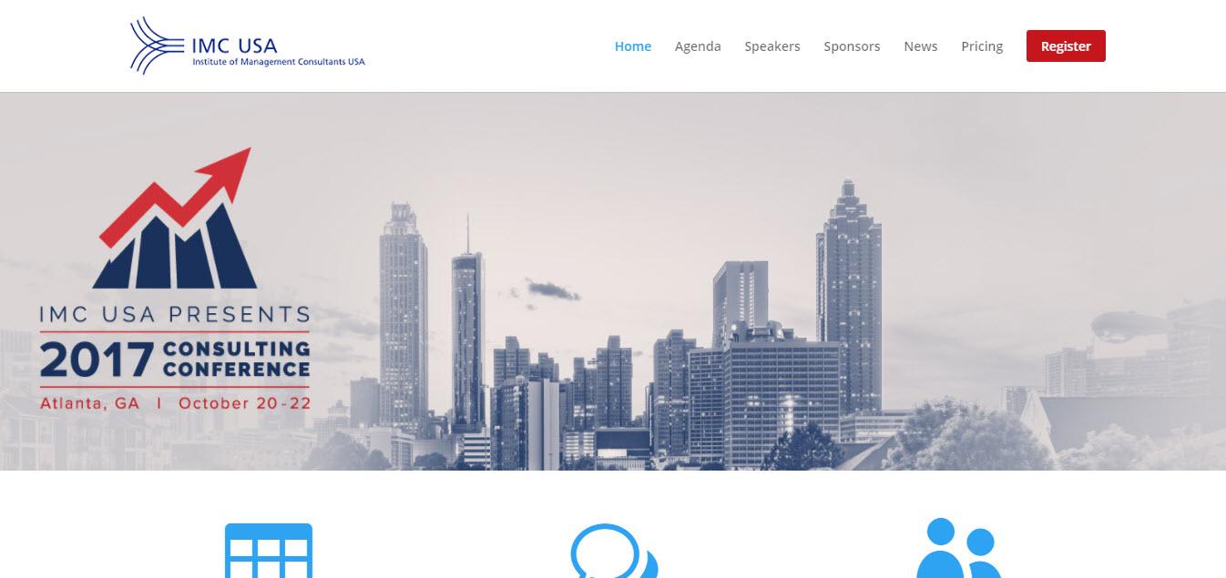 IMC USA Conference Website