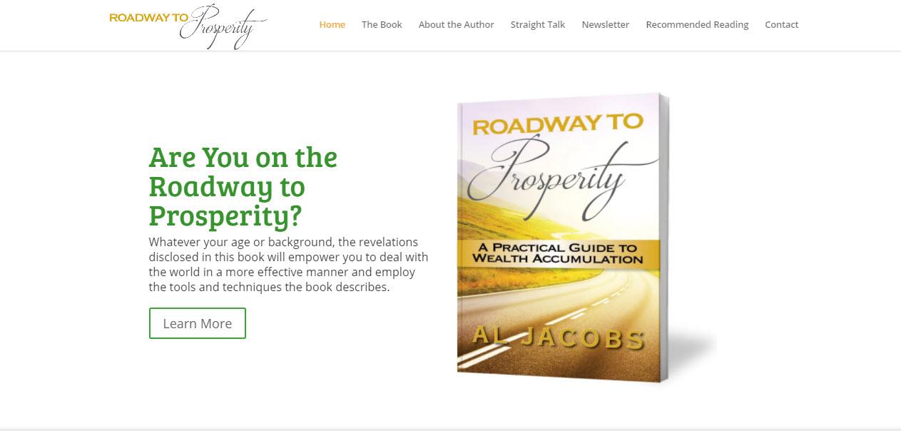 Roadway to Prosperity book website